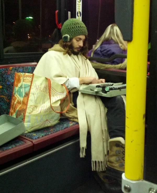 Public Transit Hipster Photo