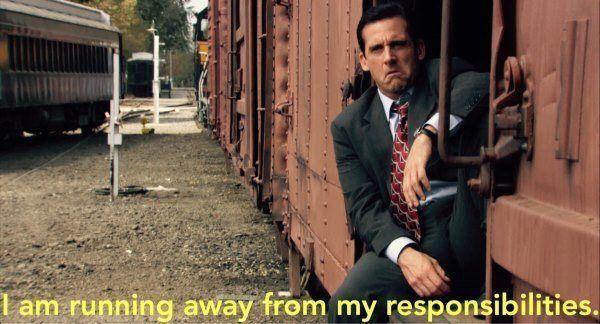 Running Away From Responsibilities