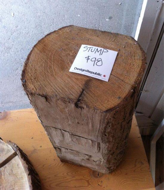 Stump Cost