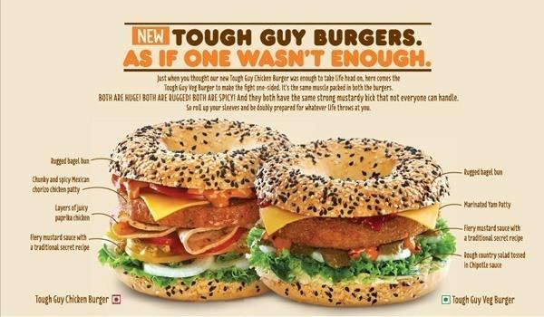Tough Guy Burger