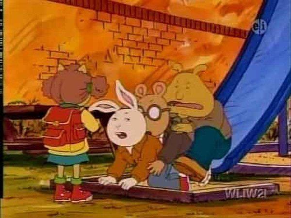 Arthur Train Dirty Cartoon