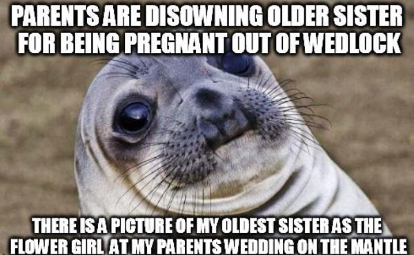 Awkward Moment Seal Parents