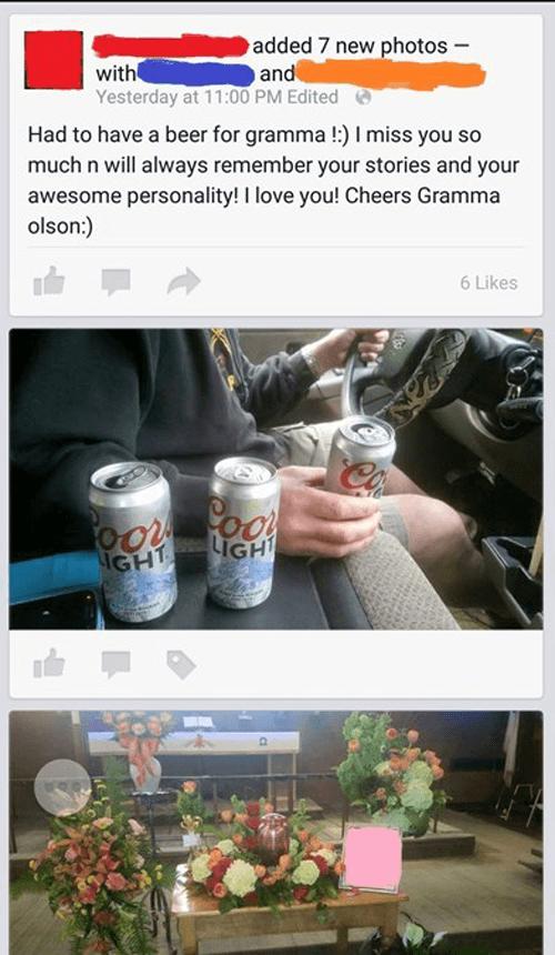 Beers For Grandma