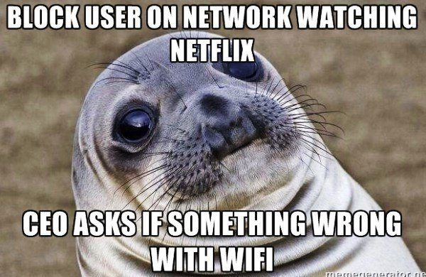 Blocking Neflix