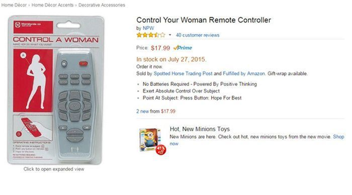 Control Woman Remote
