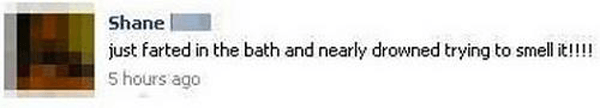 Farted In Bath
