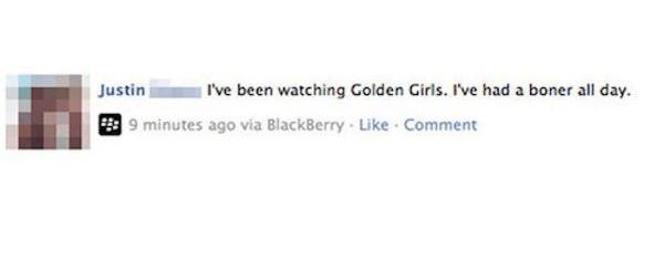 Golden Girls Boner