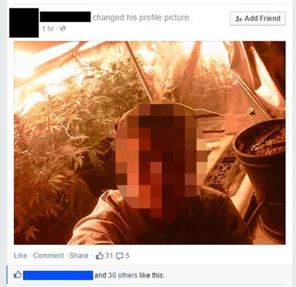 Grow House Selfie