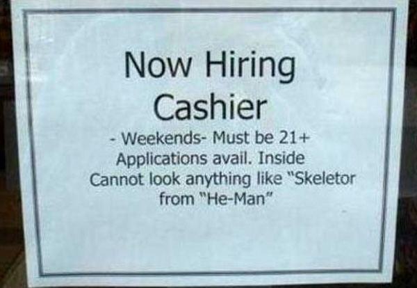 Hiring Skeletor