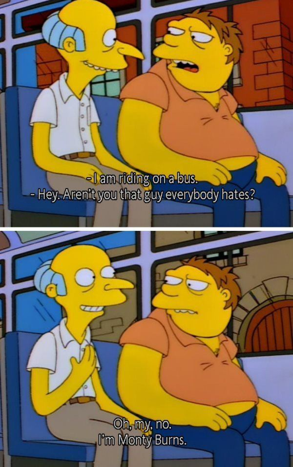 Im Mr Burns