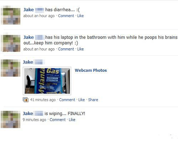 Jake Has Tmi