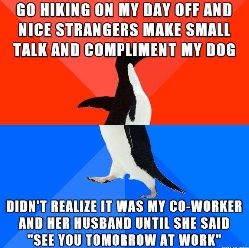 Seeing Coworkers