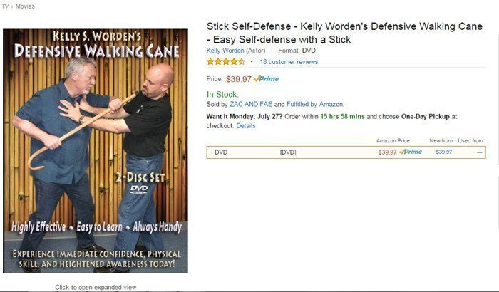 Stick Self Defense DVD