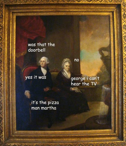 Was That The Doorbell