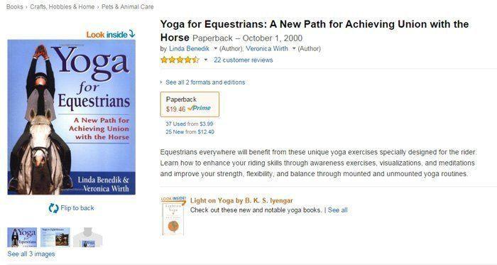 Yoga Equestrians Book