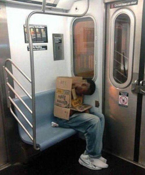 Box Man Insane Transit