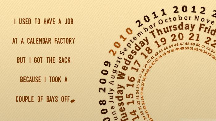 Calendar Job