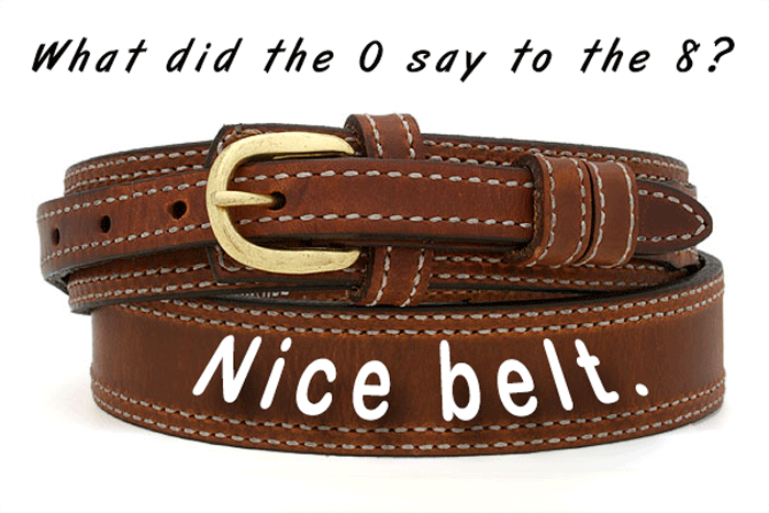 Dad Jokes Belt