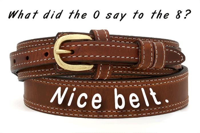 Dad Jokes Belt