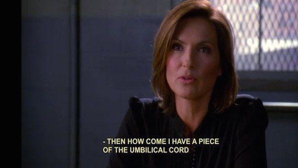 Detective Benson Unbilical Cord