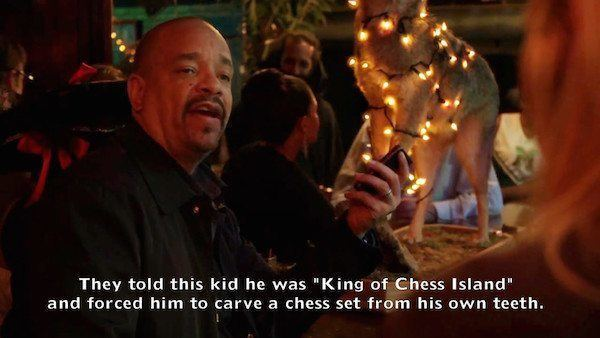 Detective Tutuola Chess Island