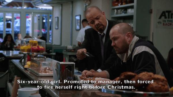 Detective Tutuola Christmas