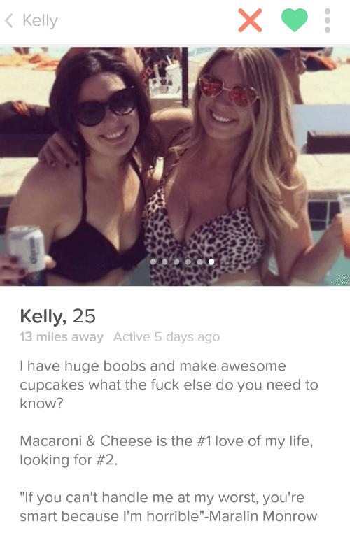 Epic Tinder Profiles