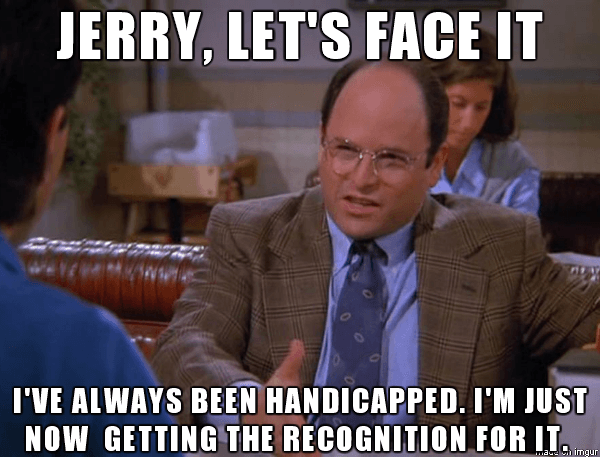 George Costanza Quotes Handicappd