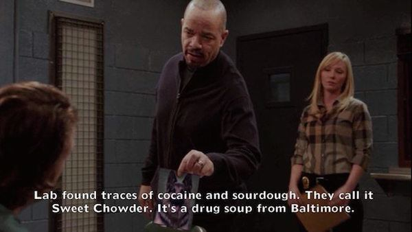 Ice T Sweet Chowder