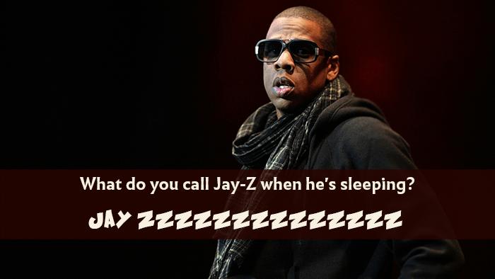 Jay Z Sleeping