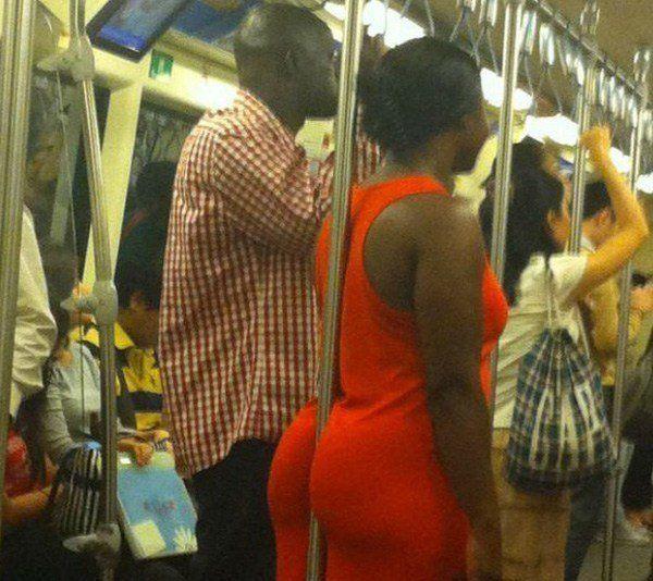 Pole Butt Transit Passengers