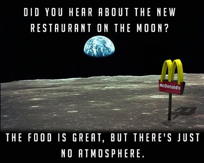 Restaurant On The Moon