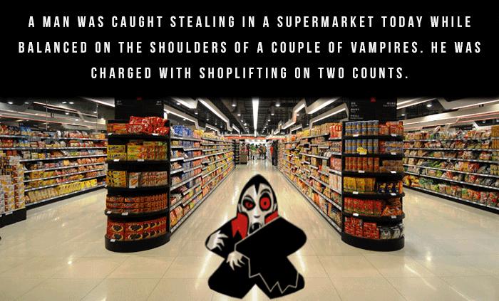 Shoplifting Bad Dad Jokes