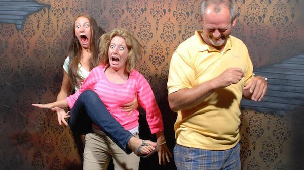 Best Haunted House Reaction Ever