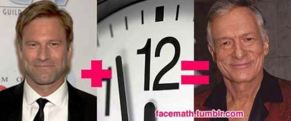 Celeb Face Math Hefner