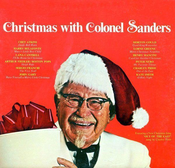 Colonol Sanders Christmas