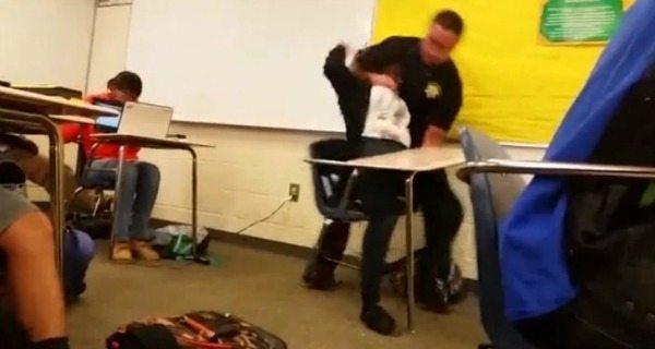 Cop Felt Threatened Black Student