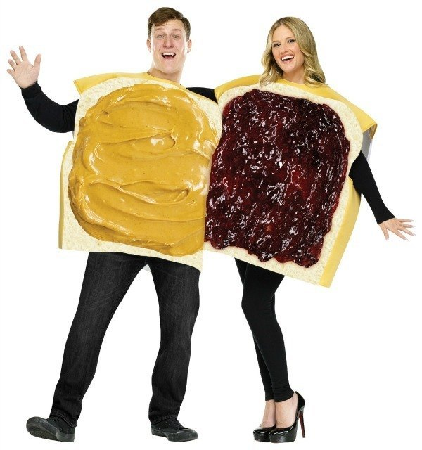 Couples Costume Peanut Butter And Jelly