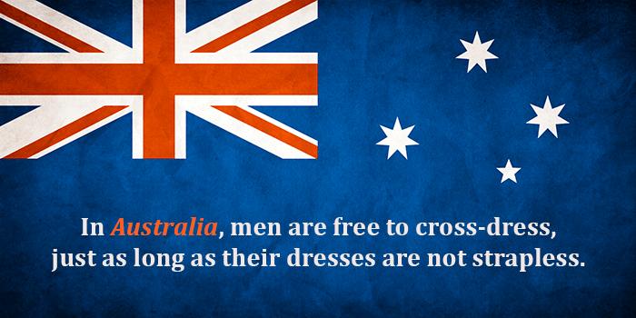 Cross Dressing In Australia