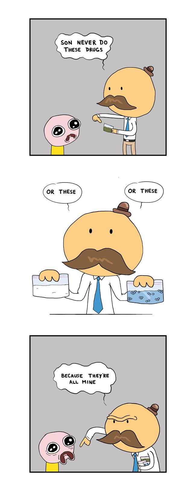 Daddy No Drug Talk