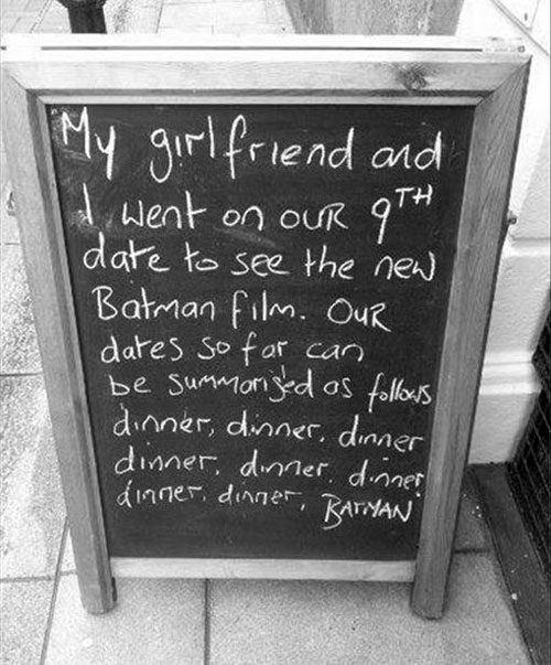 Dinner Batman