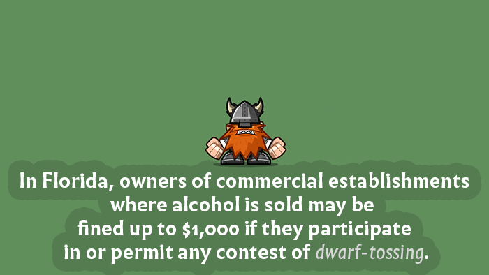 Dwarf Tossing Law Florida