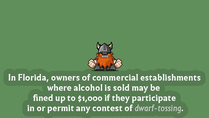 Dwarf Tossing Law Florida