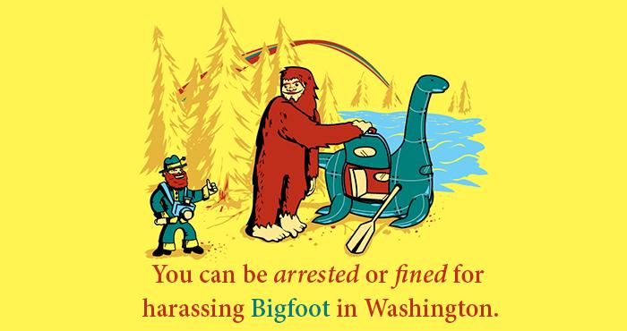 Harassing Bigfoot