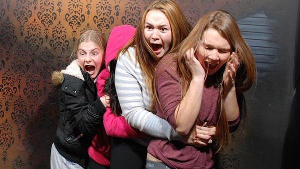 Haunted House Reaction Braces