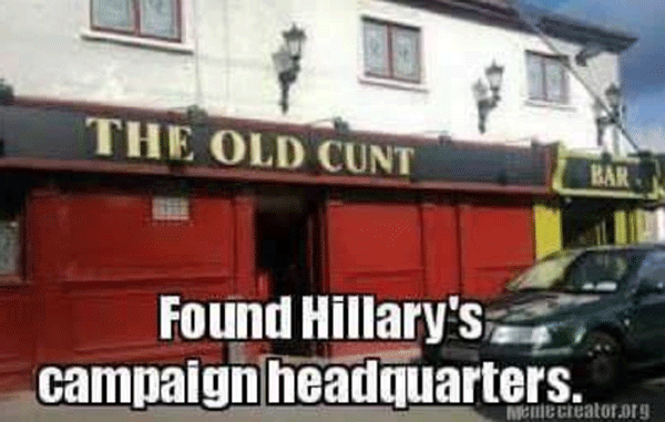 Hilary Campaign