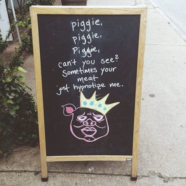Hypnotize Me Chalkboard Sign