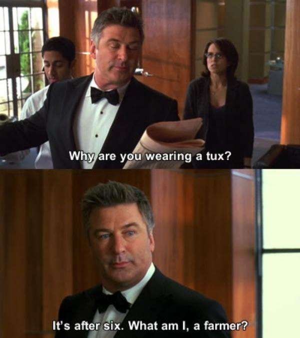 Jack Donaghy Quotes Tux
