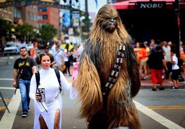 Leia Chewbacca