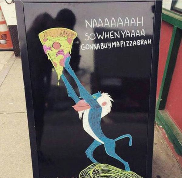 Lion King Pizza